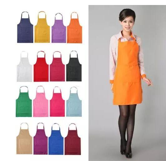 top popular 2018 new New Black Cooking Baking Aprons Kitchen Apron Restaurant Aprons For Women Home Sleeveless Apron 2020