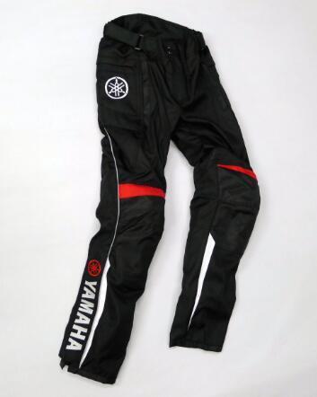 Pantalon de course professionnel MOTOGP pour YAMAHA Team Pantalon d'équitation de moto d'hiver Pantalon de motocross avec protecteurs