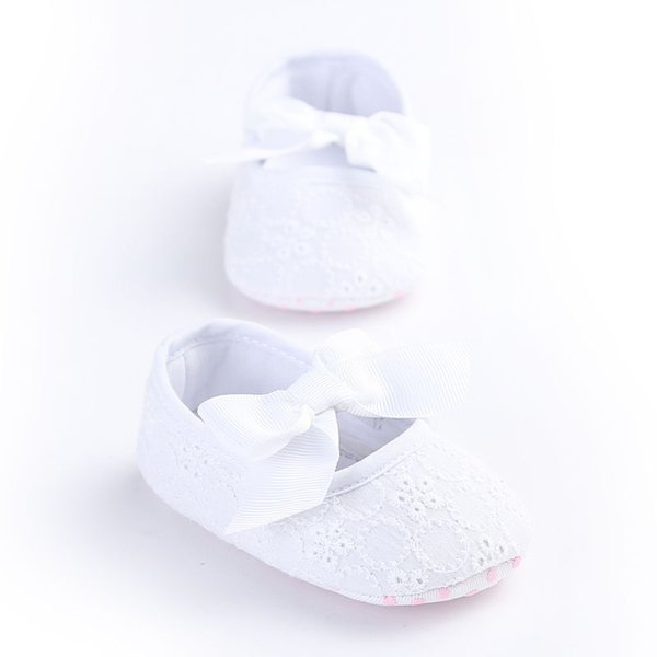 Fashion Embroidered Flower princess shoes for toddler baby girls big bow soft sole newborn baby moccasins shoes R8288