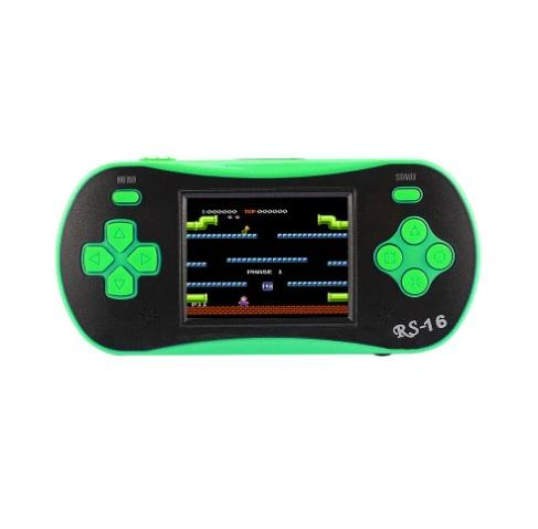 RS-16 Portable Game Players 16 Bit Game Console 2.5Inch LCD Screen Color Display TV out Children's Handheld Game Player