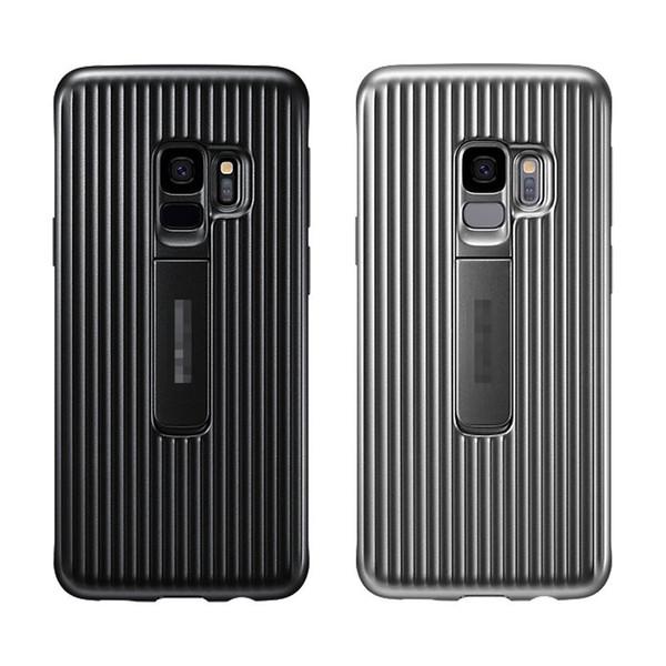 Moda Motomo spazzolato verticale TPU morbida custodia per Samsung Galaxy S9, S9 Plus fibra di carbonio Ultra sottile silicone gel cellulare Cover posteriore della pelle