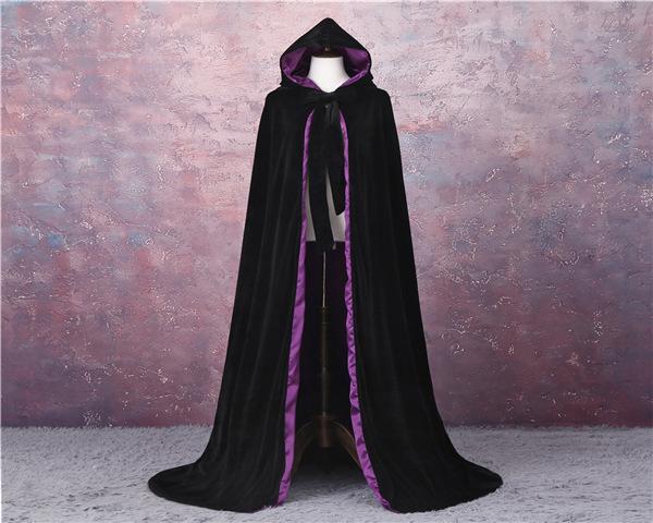 Black + purple lining
