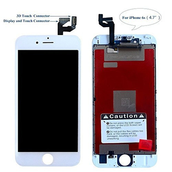 Screen Replacement iPhone 6S 4.7'' Black - Corepair LCD Display 3D Touch Digitizer Replacement Repair Tools Screen Protector