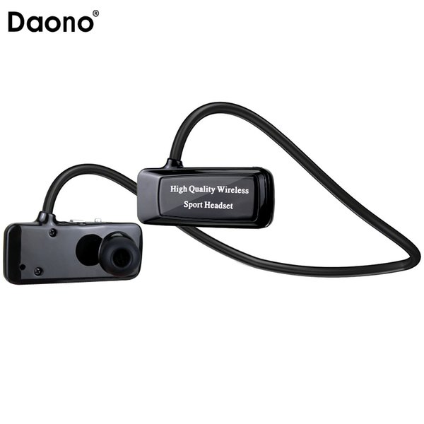Daono F5 Mini Bluetooth 4.1 Headset Sport Wireless Headphones Music Stereo Earphones+Micro SD Card Slot+FM Radio+MP3 Player