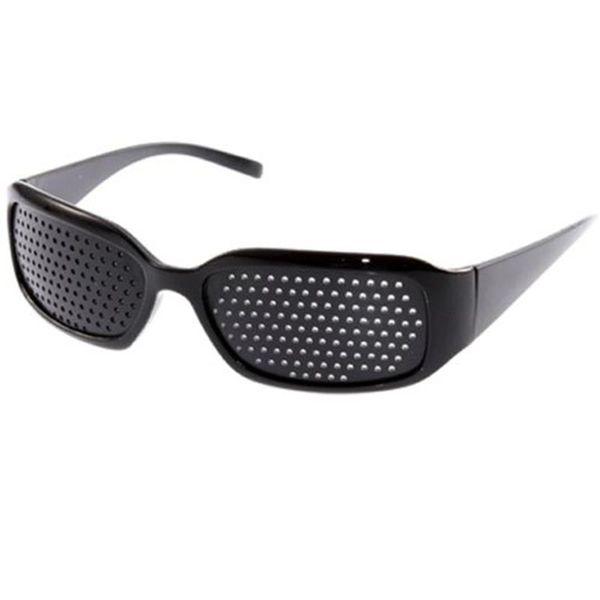 ew Arrival Black Unisex Vision Care Pin hole Eye Exercise Eyeglasses Pinhole Glasses Eyesight Improve plastic High Quality New Arrival Bl...