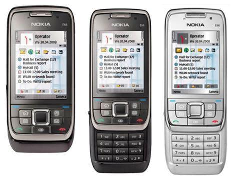 Unlocked Nokia E66 Cell Phone 3G WIFI Bluetooth 3.15MP Camera cheap nokia E66 Mobile Phone