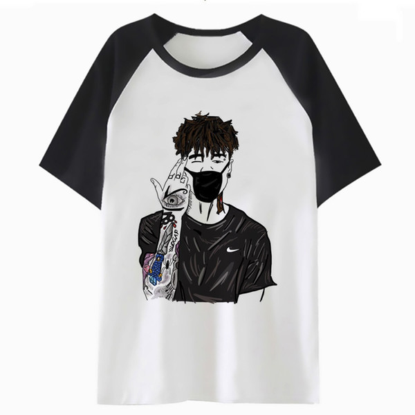 Scarlxrd T Shirt Hop For Tshirt Streetwear Male Men Harajuku Clothing Tee T  Shirt Top Hip Funny H2350 A T Shirts Fun T Shirts Online From Dhgdriver,