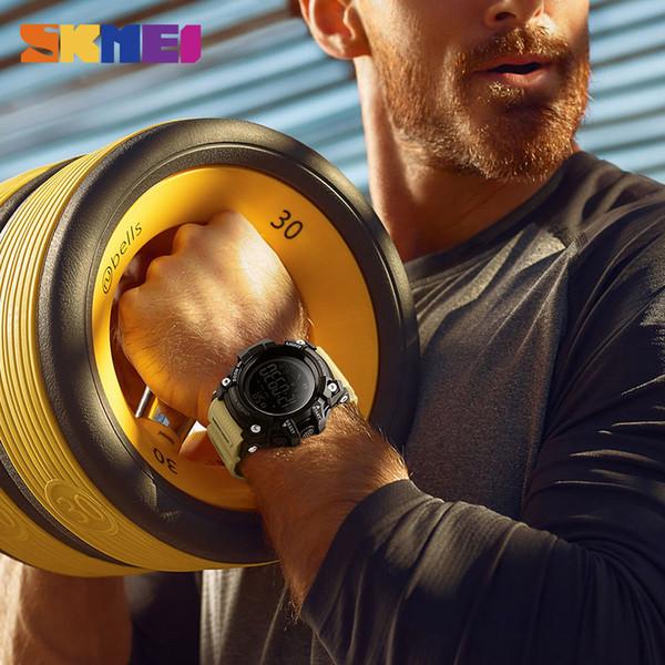 Famous Clock Men Watches Sports Smart Pedometer Calorie Chronograph Outdoor Sport Watch Man Waterproof Digital Smartwatch Sport