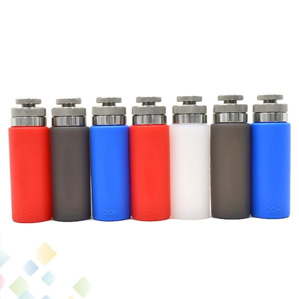 30ml Squonk Bottle Refill Food Grade Silica gel and Stainless Steel for Squonk Box Mod E-Liquid E-juice Silicone Squeeze Bottle DHL Free