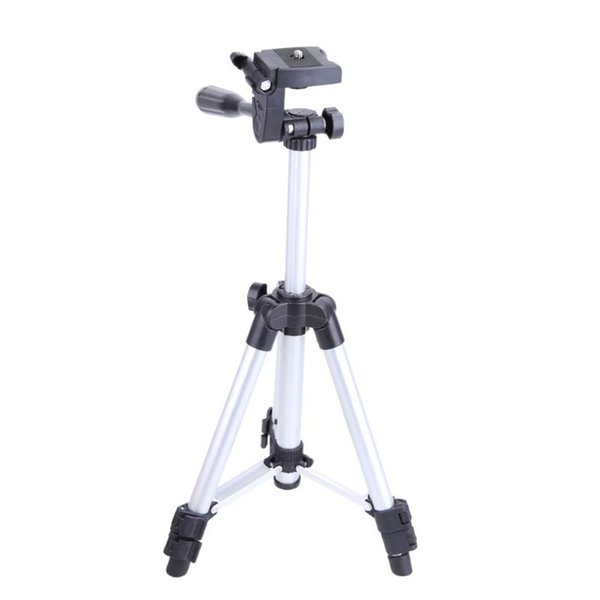 Professional Flexiable 3 Sections Universal 1/4 Metal Camera Tripod with Carry Bag for Canon Nikon DSLR Camera/ Phone / Tablet