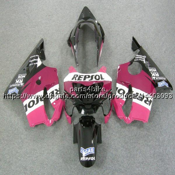23colors + 5Gifts molde de inyección repsol carrocería rosa Carenado de motocicleta para Honda CBR600F4 99-00 CBR600 F4 1999 2000 ABS kit de plástico