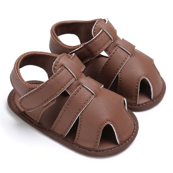 Newborn Baby Kids First Walkers Summer Infant Boys Soft Soled Sandals Shoes 0-1T