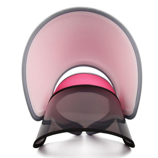 Women UV Protection Clip-On Wide Brim Sun Hat Cap with Retractable Visor anti-ultraviolet Outdoor Hat Adjustable monochromatic