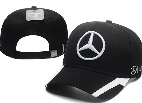 Wholesale Black cap Embroidery golf bone Adjustable Snapback Hat Outdoor Summer Men car truck Caps Visor Cheap casquette Women baseball Cap