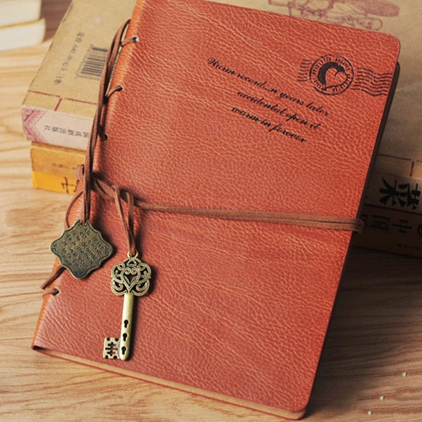 New Diary Notebook Kraft Paper Cover A5 Paper Vintage Notepad Book Unique Stationery Diary Book Student Supplies