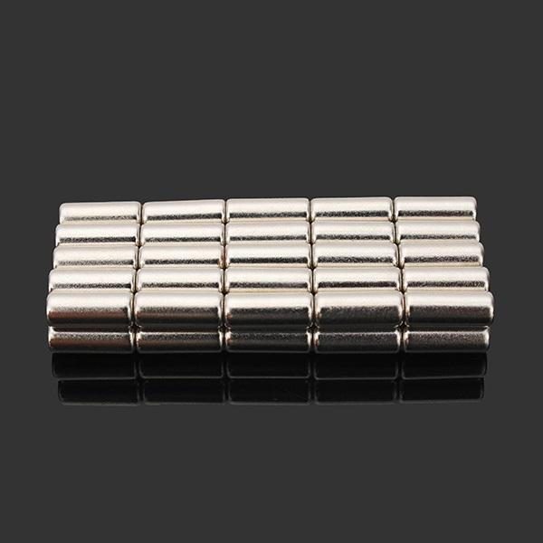 50pcs N35 Super Strong Disc Magnets 4mm x 10mm Rare Earth Neodymium Magnets