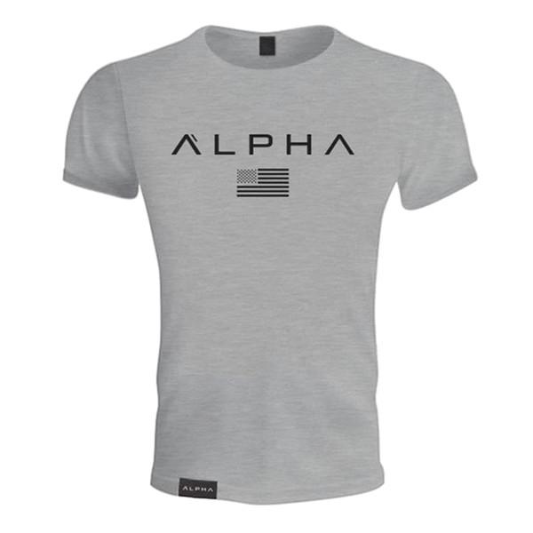 Жаркое лето новый мужской хлопок с коротким рукавом футболки фитнес бодибилдинг рубашки Crossfit мужской бренд майки мода повседневная одежда