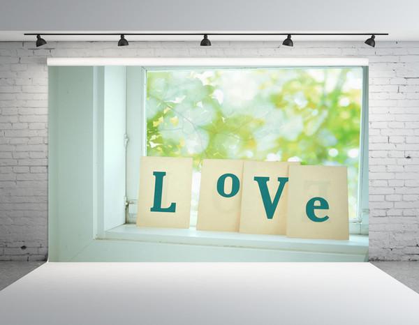 SHENGONGBAO Vinyl custom Valentine's Day theme Vinyl Photography. Backdrops Prop Custom Photography Background TTZP-67