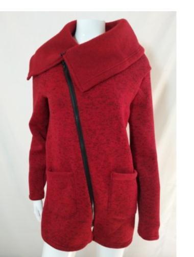 Envoi gratuit 2018 Automne Nouveau style vestes femmes manteau chaud lâche et confortable