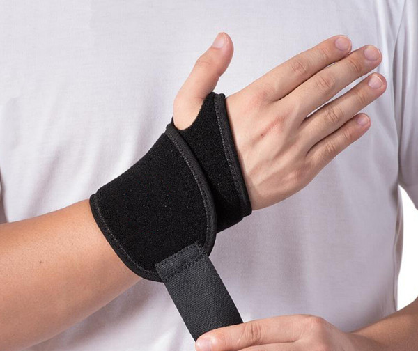 Fitness gloves Wholesale non-slip knit warming basketball wristbands wristbands sports protective gear