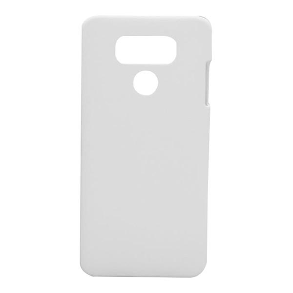 PC Plastik Sert Boş DIY 3D Sublime Kılıfı için LG G6 Cep Telefonu Kılıfı Kabuk için LG V30