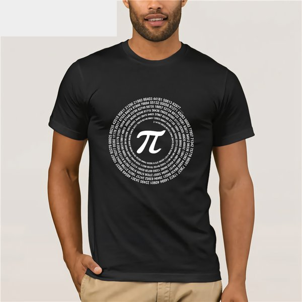 New Pi mens T-shirt men/'s cotton loose with short sleeves
