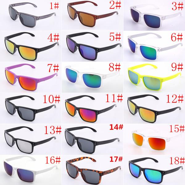best selling Best Hot Sale Brand Logo 9102 NOT Polarized UV400 Sunglasses Men Women Sport Cycling Glasses Eyewear Goggles Eyewear 18 colors Free Shipping