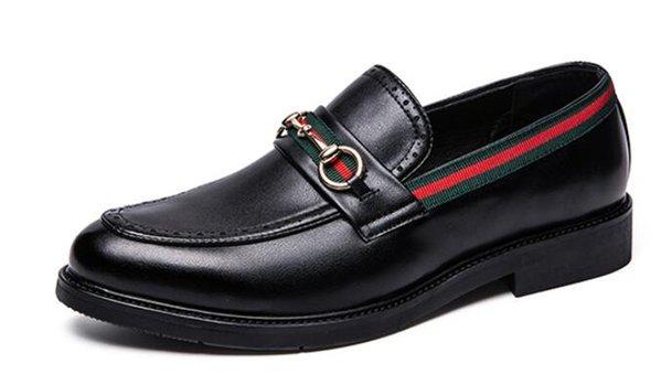 2019 erkek Ayakkabıları Hakiki Deri Rahat Sürüş Oxfords Flats Ayakkabı Erkek Loafers Erkekler için Moccasins İtalyan Ayakkabı BOYUTU 38-44.
