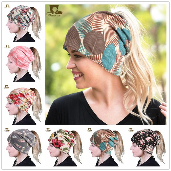 New Women's Baggy Slouchy Beanie Soft Cotton Chemo Hat Cap Infinity Scarf Skull Baggy Hat