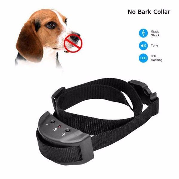 No Bark Collar Dog Collar Dog Agility Product Anti Bark Device Dog Training Collar