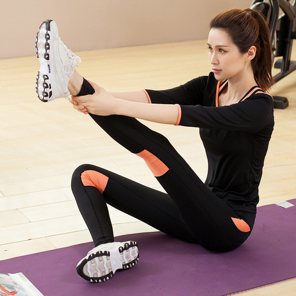 MLBHUT Sport Wear Tracksuit Women Letter Vs Print Sport Suit Hoodies Sweatshirt Pant Jogging Sportswear Costume 3-4pc Set