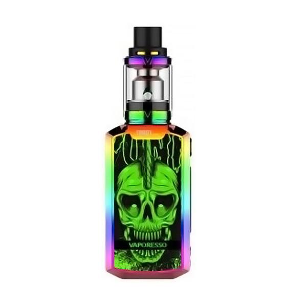 Rainbow Punk Skull
