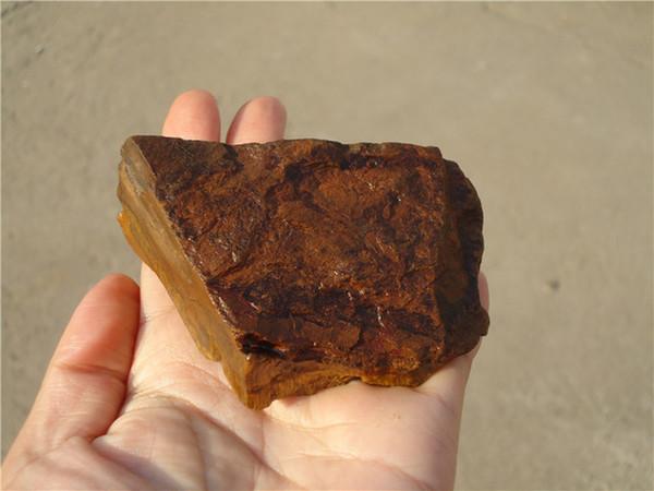 200g Raw Natural Quartz Crystal Rough Stone Original yellow tiger eye Specimen Healing Bright stone Mineral Specimen