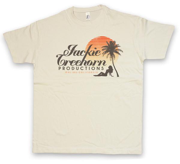 Jackie Treehorn Productions T-Shirt Der große Typ Lebwoski Film Film Produzent Cool Casual Pride T-Shirt Männer Unisex Neue Mode