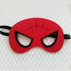 Children Superhero Mask Halloween Festival Animation Cartoon Masks Green Boys Red Designs Cover Eyes Masquerade Costumes Party Cosplay Gift