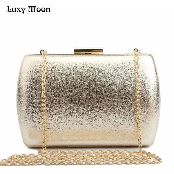 LUXY MOON Bling Abend Clutch Bag Gold Silber Tag Clutch Geldbörse Mode Frauen Hochzeit Tasche Party Dating Handtasche Nachtclub Tasche Y18103004