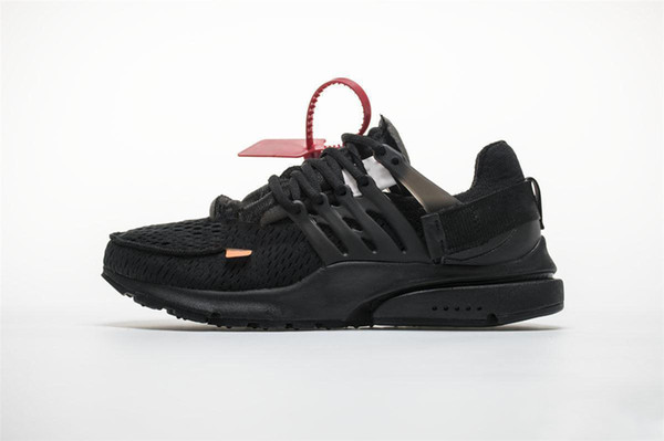 New 2018 XOFF Prestos Running Shoes Men Women Presto 2.0 Pink Oreo Outdoor Fashion Jogging Sneakers Size US 5.5-12 AA3830-100 AA3830-002