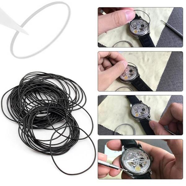 Yosoo 950pcs O ring Watch Back Guarnizione Rondelle di tenuta in gomma Set di ricambio 12-30mm 0.5mm