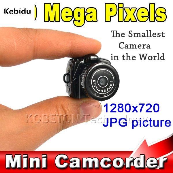 Kebidu 5PCS/Lot Micro Smallest Portable HD CMOS 2.0 Mega Pixel Pocket Video Digital Camera Mini Camcorder 640*480 DVR 720P JPG
