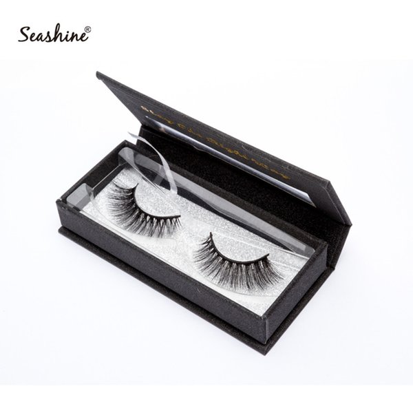 Seashine New Package Makeup Natural long Individual Eyelash Extension Black False EyeLashes Handmade Artificial Fake False Eyelashes