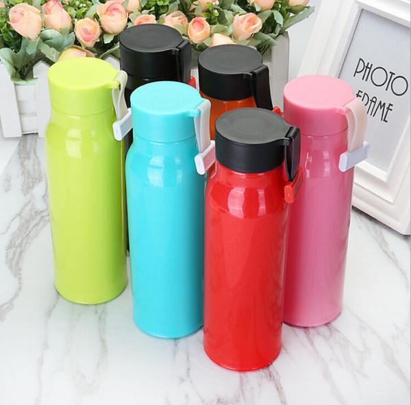 Avec la coupe personnalisée double verre en plastique publicité cadeaux promotionnels coupe verte logo personnalisé petits cadeaux