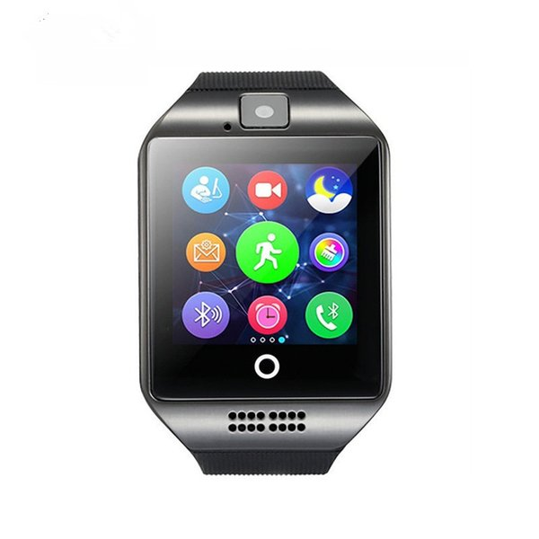 Smart Watch Q18 Android Watch Bluetooth Smartwatch Wristband For SAMSUNG HUAWEI Camara SIM Card Retial box