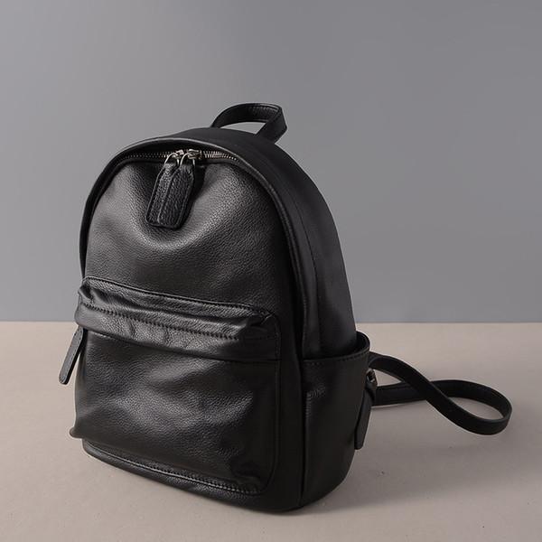 SIKU mulheres mochila de couro moda feminina saco marca mochila coreana feminino