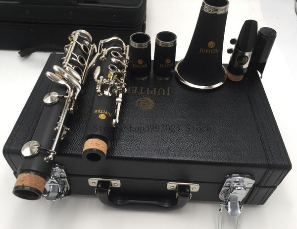 JUPITER JCL-700N Professional Woodwinds 17 Key Clarinet Bb Tune B Flat Nickel Plated Instrument For Student Free Shipping