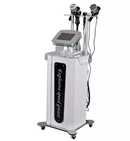 Portable Tripolar RF Liposuction BIO Vacuum Ultrasound Cavitation Machine Weight Fat Reduce Body Shaper 5 in 1
