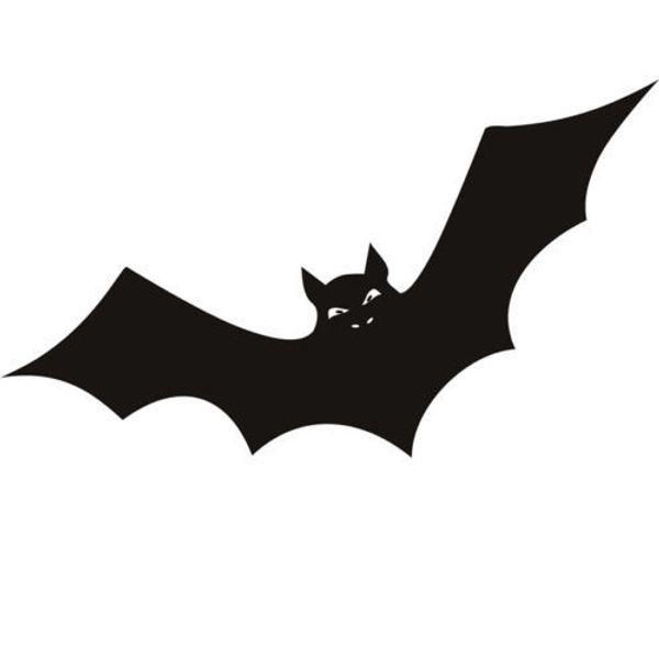 Compre Novo Colorido Morcego Adesivo Removivel Halloween Festival