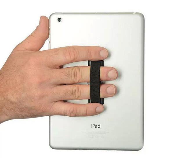 Nuovo arrivo elastico attaccato al cinturino del cellulare Touch Holder Finger Ring maniglia impugnatura del dispositivo per il telefono mobile / ipad