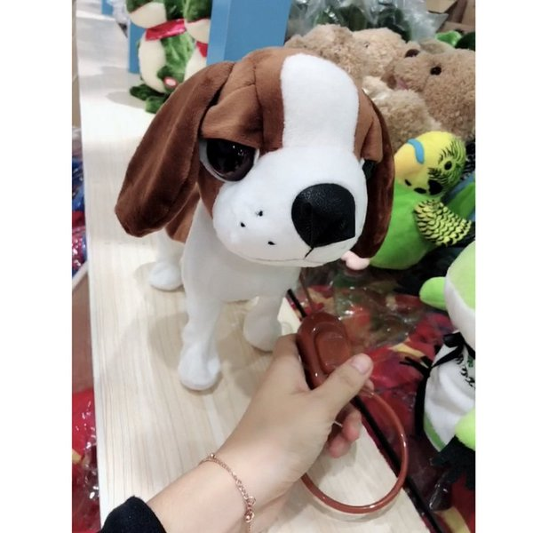 2018 Electric Walking Barking Dog Musical Robot Dog Electronic Pet Toys  Interactive Electric Pets Plush Toy Christmas Gift For Kids From Benedicty,