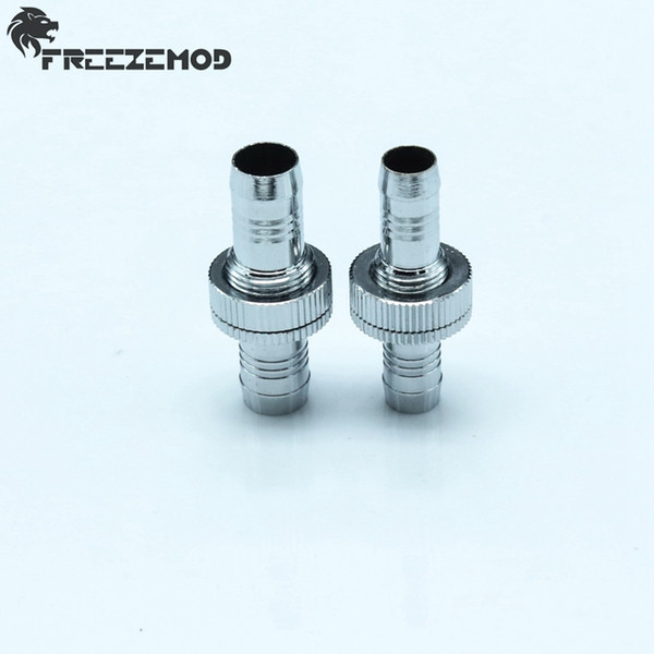 Wholesale- QYFREEZE silvery brass G1/4'' board cross pagoda type connector for computer water cooling use. RGBT-G9