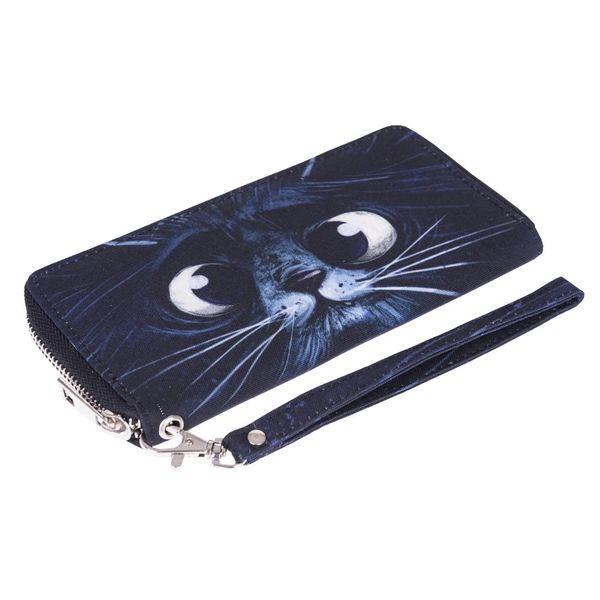 2018 New Fashion Designer Funny Black Clutch Cute Wallet Women Wallets Wristlet Men Bags Coin Purse Long Phone Holder Handbags